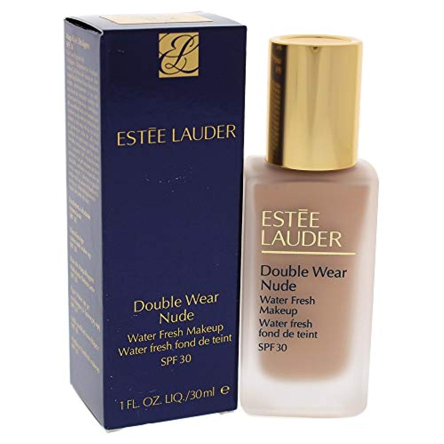 大洪水比較的殺しますエスティローダー Double Wear Nude Water Fresh Makeup SPF 30 - # 3C2 Pebble 30ml/1oz並行輸入品