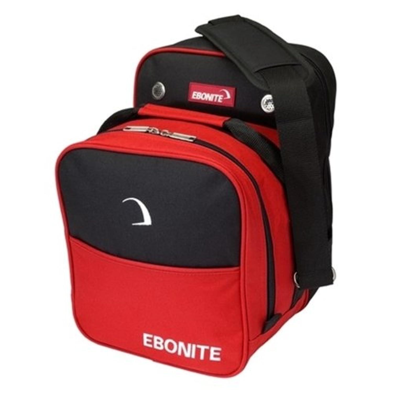 EboniteコンパクトSingle Bowling bag-レッド
