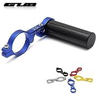 GUB 229 Road bike Bicycle Handlebar extensions mount carbon fiber extender holder for light extension 31.8MM-Blue