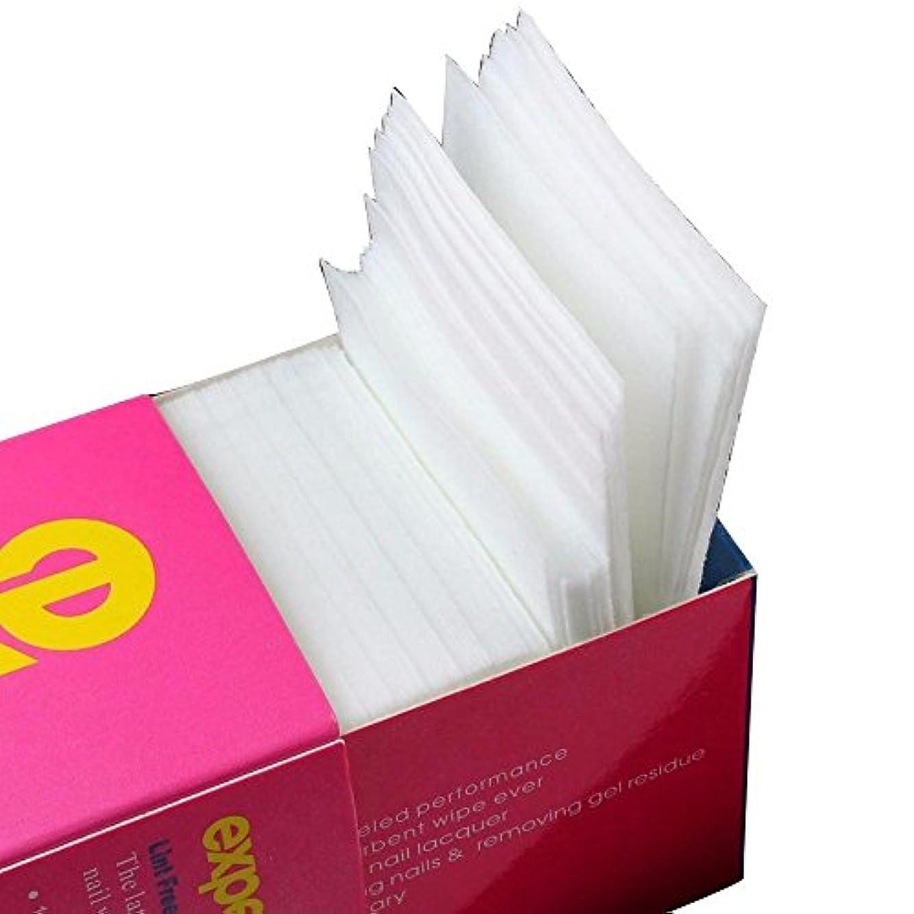 セッションハック環境に優しいVi.yo ネイル ワイプ コットン 天然素材 不織布 ジェルの拭き取り 油分除去 クリーニング 320枚以上