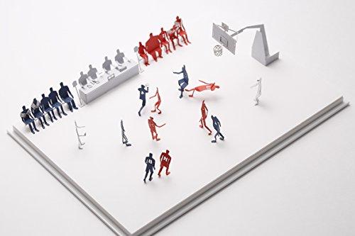 テラダモケイ 1/100建築模型用添景セット  No.50 スラムダンクシリーズ 山王工業高校編