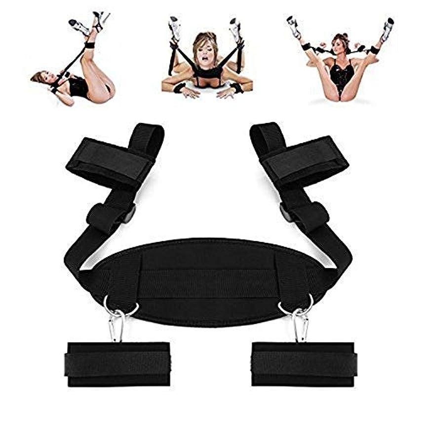 コスプレ大人のおもちゃ手錠 & シャックルストラップベッドキット親密なメロディーのための性的制限拘束システム