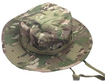 マルチカム ブーニーハット ジャングルハット マルチ カモフラージュ ワンサイズ 帽子 迷彩 軍服 ミリタリー