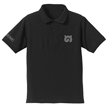 けものフレンズ ジャパリパーク ポロシャツ ブラック