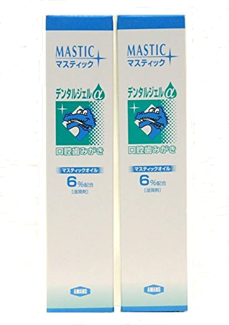 熱心な推測吸収MASTIC マスティックデンタルジェルα45gX2個セット