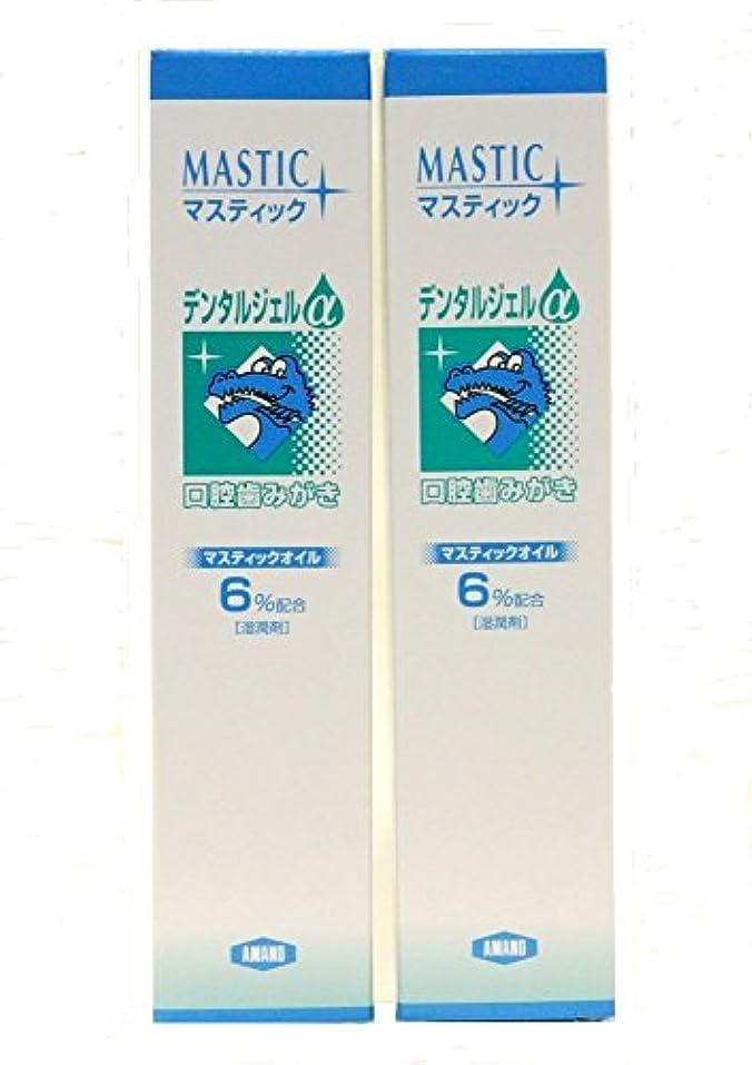 眼クスコ注意MASTIC マスティックデンタルジェルα45gX2個セット