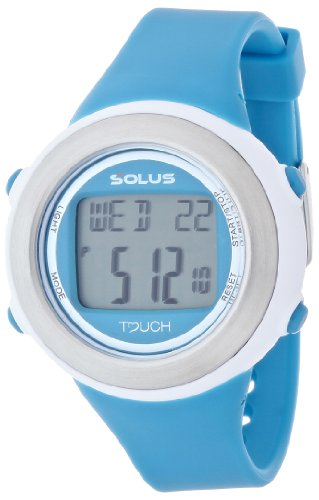 腕時計 心拍計測機能付 Leisure 850(レジャー 850) ブルー 01-850-005 レディース ソーラス