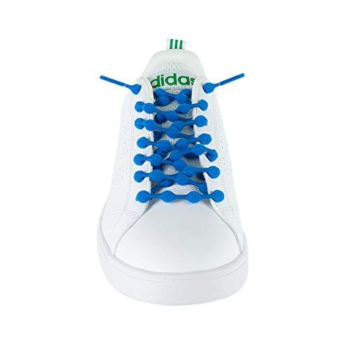 クールノット (COOLKNOT) 結ばなくてもいい 靴ひも ブルー Mサイズ
