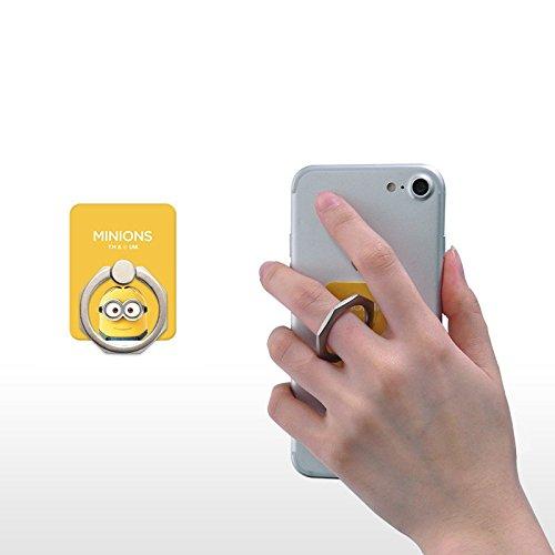 スマホ リング ハンドスピナー 指 携帯 ホルダー リング型 ストレス解消 落下防止 360度回転 iPhone / Galaxy / Xperia 多機種対応 - Dave [並行輸入品]