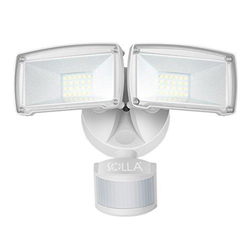 SOLLA Elegant センサーライト 2灯コード式 ソーラー式