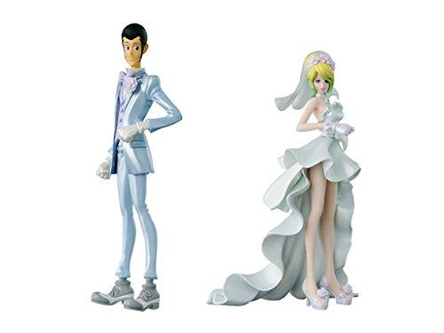 루팡3세상 CREATOR×CREATOR 「LUPIN THE THIRD Wedding ver.」(통상 컬러ver.)/「REBECCA ROSSELLINI Wedding ver.」(통상 컬러ver.) 각1개씩 2종 세트