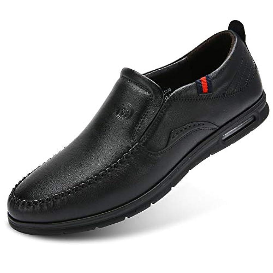 利用可能ビュッフェアナウンサーCAMEL CROWN スリッポン革靴 ビジネスシューズ ドライビングシューズ メンズ ローファー 紳士靴 軽量 本革 防滑 通勤 ブラウン