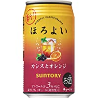 サントリー チューハイ ほろよい カシスとオレンジ 350ml