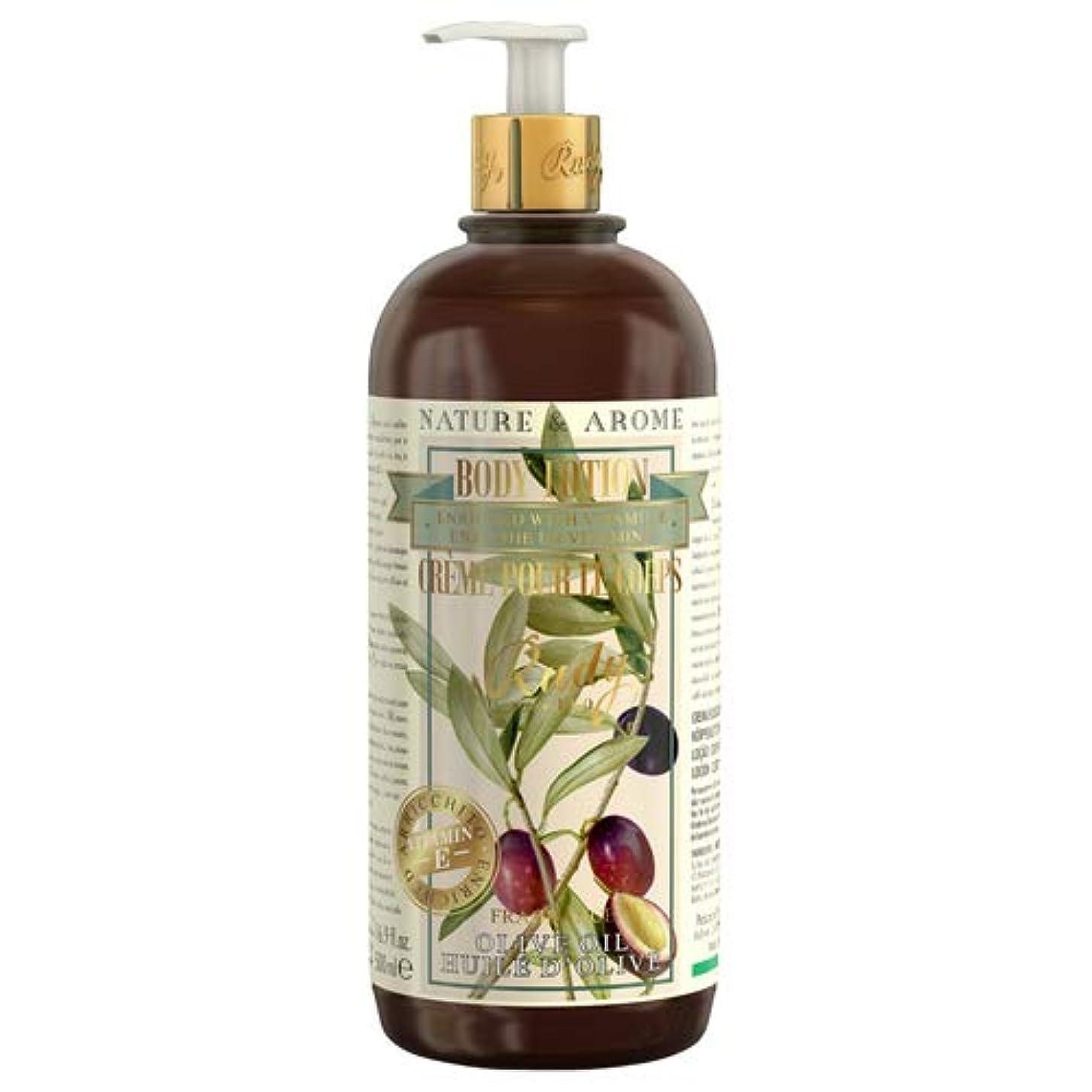 彫る軽減する給料RUDY Nature&Arome Apothecary ネイチャーアロマ アポセカリー Body Lotion ボディローション Olive Oil オリーブオイル