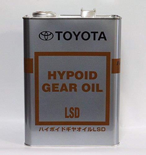 TOYOTA トヨタ純正 ハイポイドギヤオイルLSD GL-5 85W-90 4L缶 08885-00305