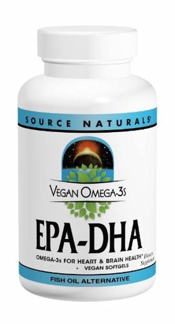 思いつく西群衆ソースナチュラルズ社 植物由来の優れたEPA/DHA!Vegan Omega-3s 生臭いあと味も臭いも残りません! (60粒)