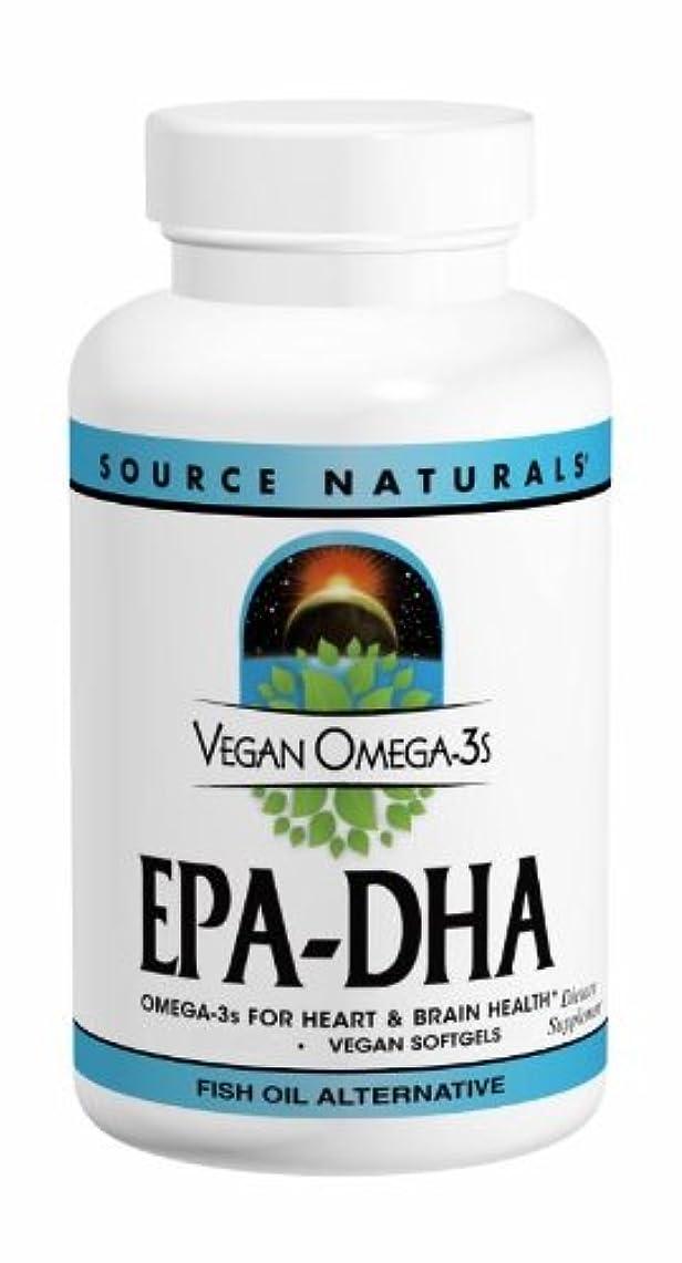ちょうつがいミッション腐食するソースナチュラルズ社 植物由来の優れたEPA/DHA!Vegan Omega-3s 生臭いあと味も臭いも残りません! (60粒)