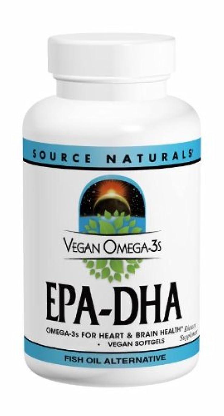 チーズ何よりも憂鬱ソースナチュラルズ社 植物由来の優れたEPA/DHA!Vegan Omega-3s 生臭いあと味も臭いも残りません! (60粒)
