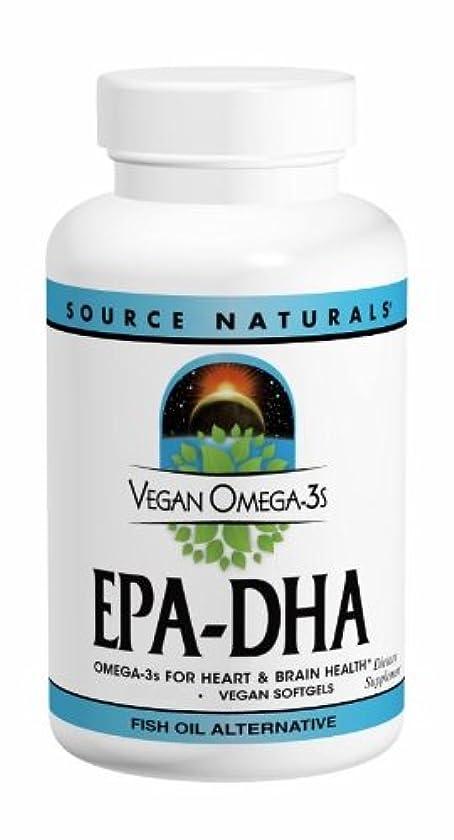 エジプト円形土曜日ソースナチュラルズ社 植物由来の優れたEPA/DHA!Vegan Omega-3s 生臭いあと味も臭いも残りません! (60粒)