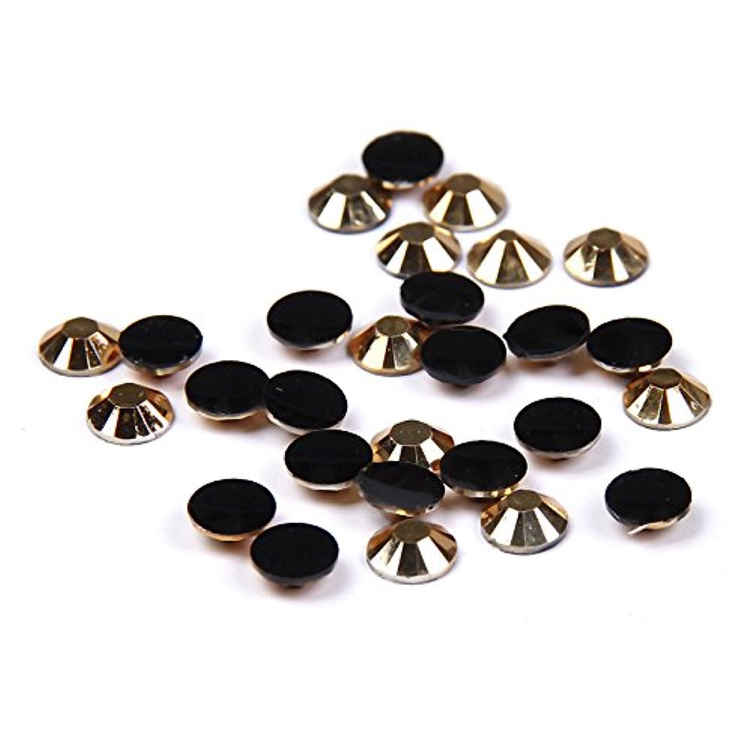 反発する出しますブルームNizi ジュエリー ブランド ゴールド ラインストーン は樹脂材質 ネイル使用 型番2mm-6mm (2mm 10000pcs)