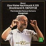モーツァルト : アイネ・クライネ・ナハトムジーク&3つのディヴェルティメント 画像