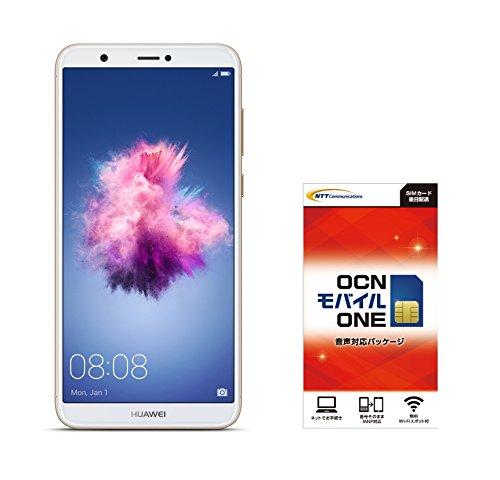 Huawei 5.65インチ nova lite 2 SIMフリースマートフォン ゴールド※クリアケース、イヤホンマイク付属※日本正規代理店品 NOVA LITE 2/GOLD  OCNモバイル エントリーパッケージセット