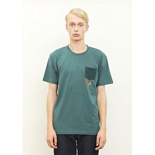 (グラニフ)graniph ベーシックTシャツ / ナマケモノ ( モスグリーン ) L