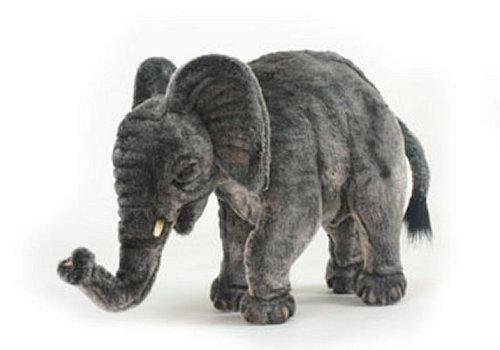 ぬいぐるみでソフトな象。 33cm。 Hansa 5489