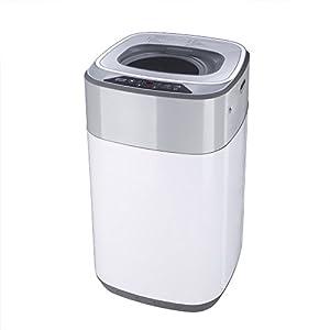 BESTEK 全自動洗濯機 小型 ミニ縦型 洗濯容量3.8kg 抗菌パルセーター BTWA01