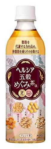 [トクホ]ヘルシア 五穀めぐみ茶 500ml×24本