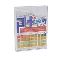 Ph試験ストリップ0-14、ユニバーサルストリップにテスト水質用スイミングプール、水栽培、水族館、土壌、尿20%オフ
