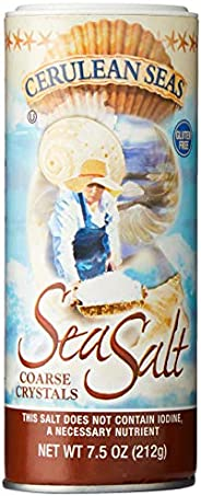 Cerulean Seas Coarse Sea Salt 2, 213 g