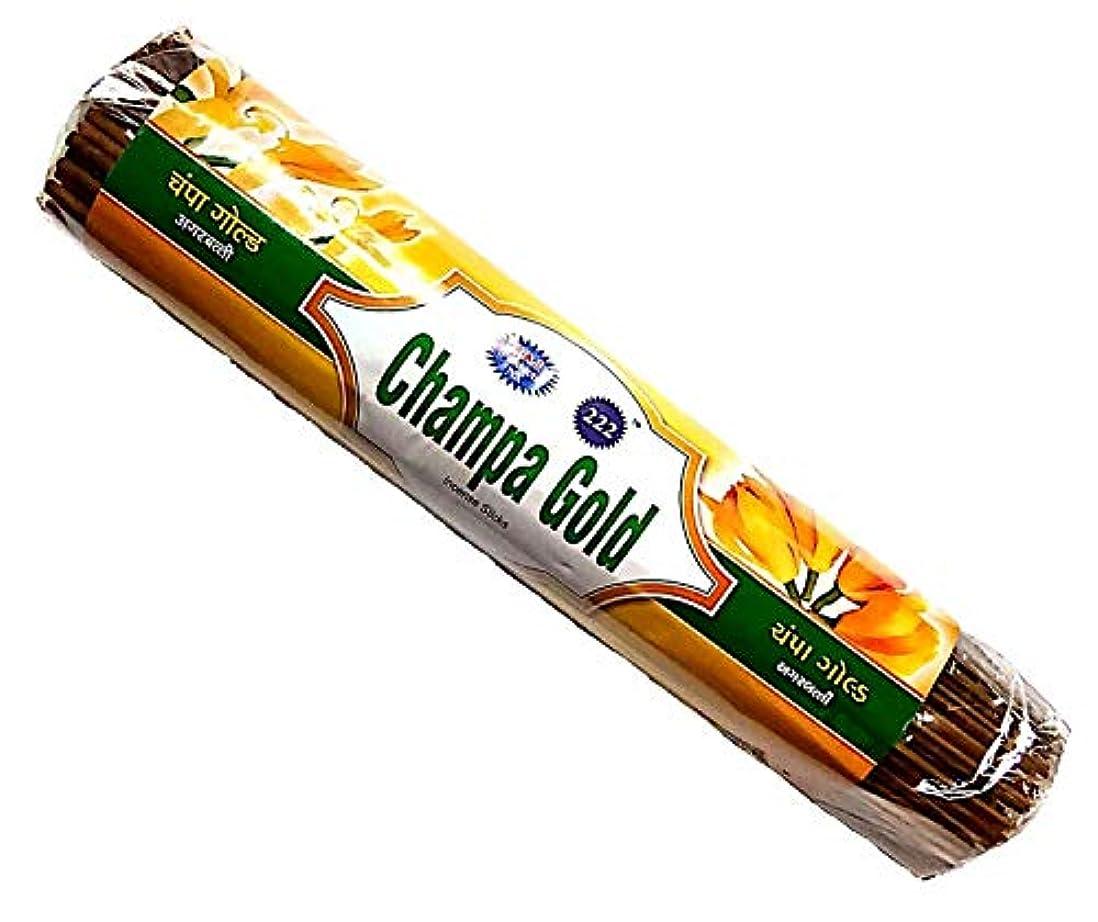 掃く大胆な椅子Champa Gold & Kevda Gold Incense Sticks 250g Each