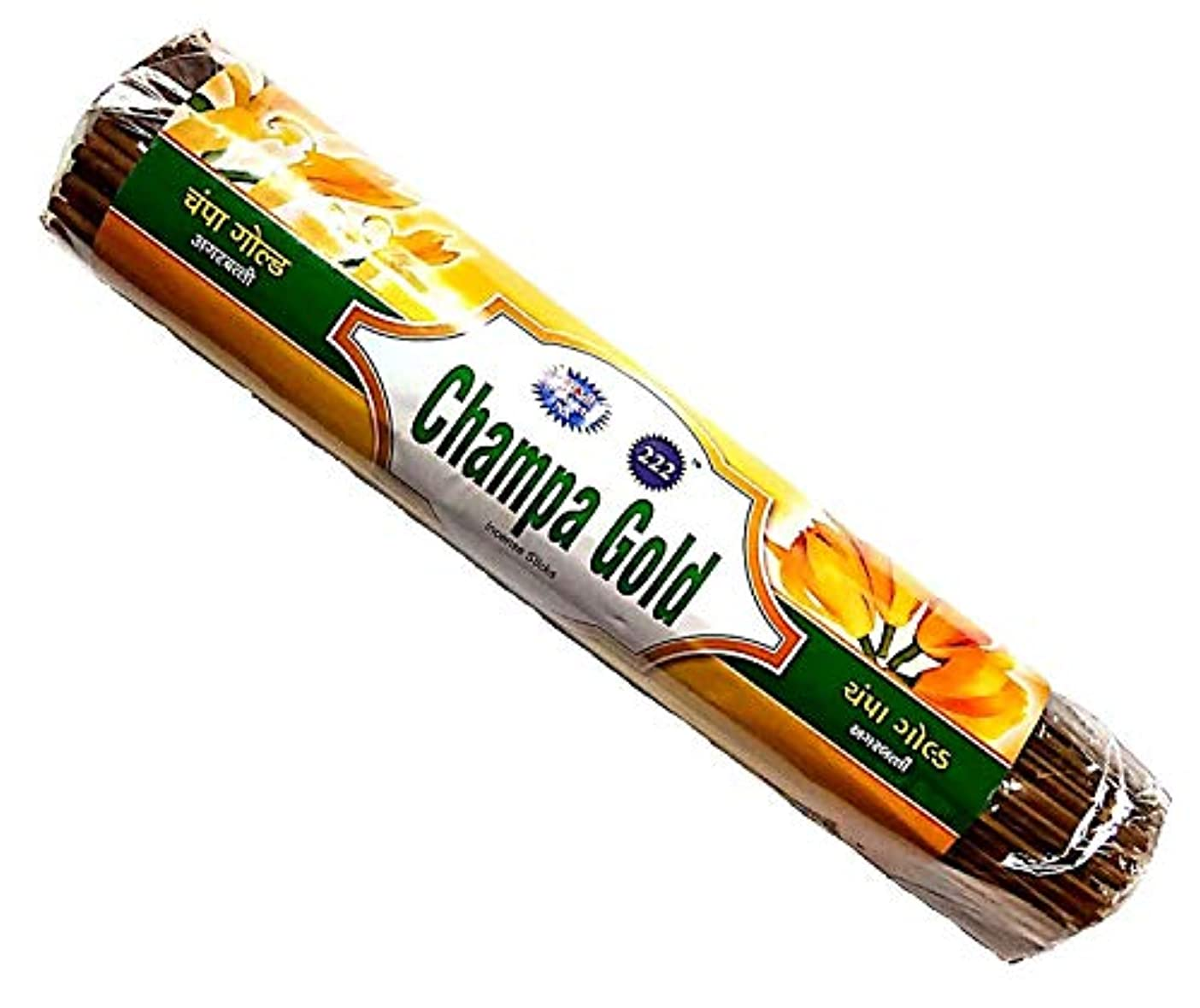 直接スポンジ直接Champa Gold & Kevda Gold Incense Sticks 250g Each