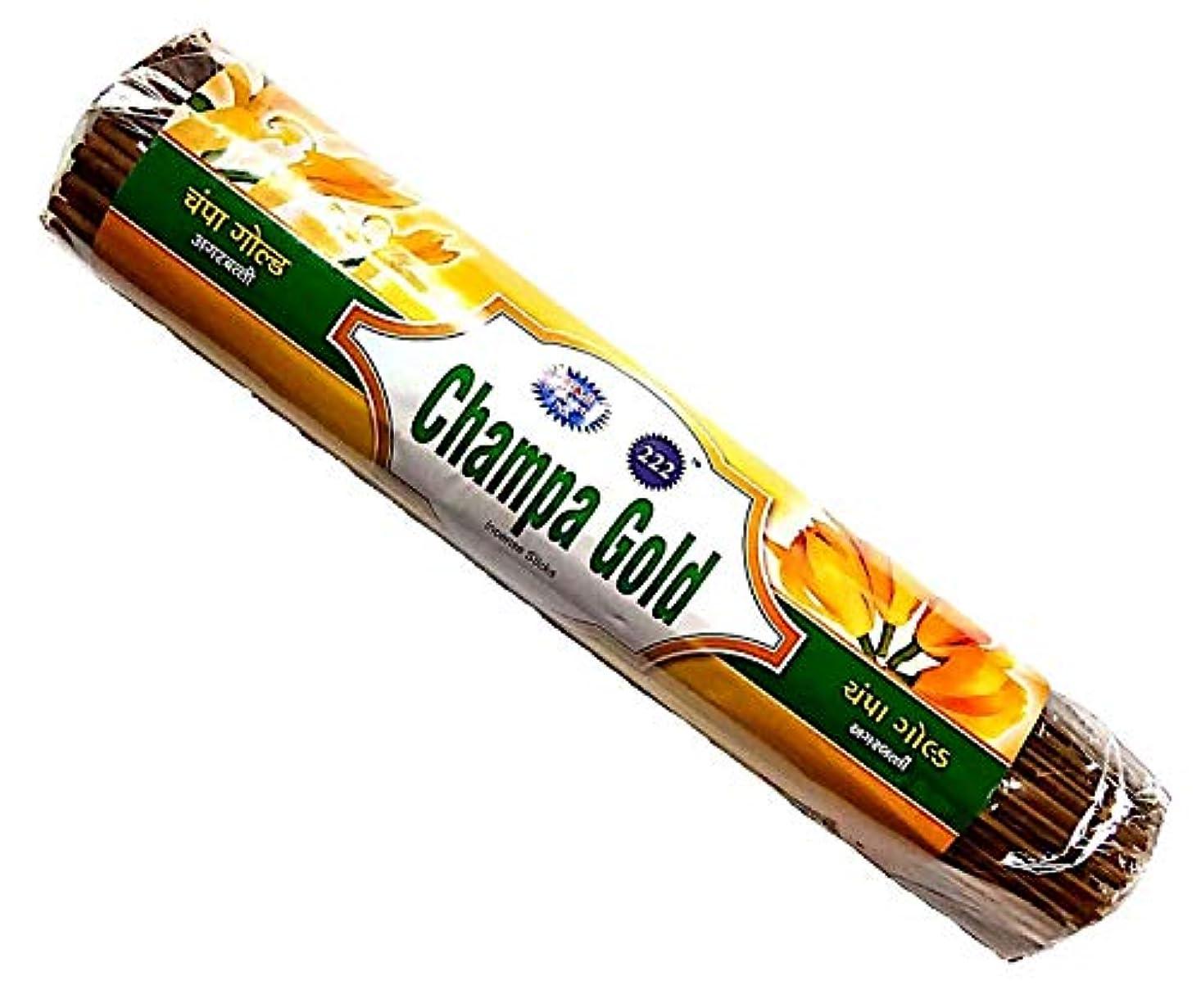 オゾンマインドフル思い出すChampa Gold & Kevda Gold Incense Sticks 250g Each