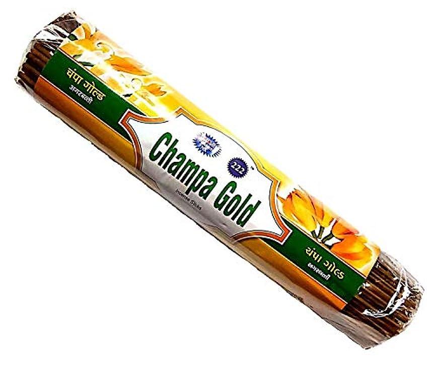 お茶エミュレートするメダルChampa Gold & Kevda Gold Incense Sticks 250g Each
