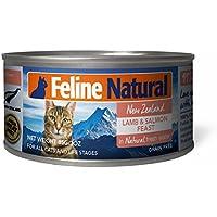 フィーラインナチュラル キャットフード プレミアム缶 ラム&サーモン (ケース販売)