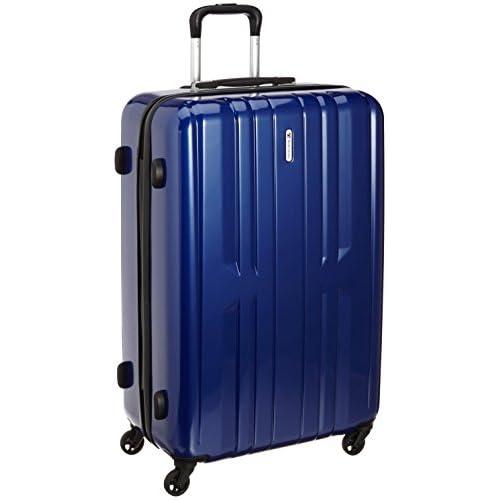 [ワールド トラベラー] World Traveler アマゾン限定 ACEコラボ特別企画 ペンタクォーク ストッパー付スーツケース69cm・4.6kg・86リットル・TSAロック搭載・預け入れサイズ 05663 03 (ネイビー)