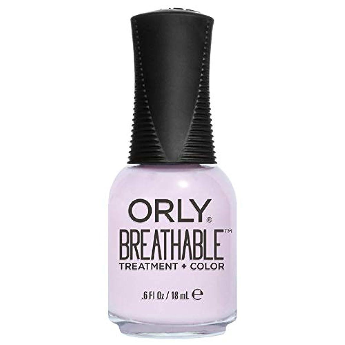 予知方法興味Orly Breathable Treatment + Color Nail Lacquer - Pamper Me - 0.6oz / 18ml