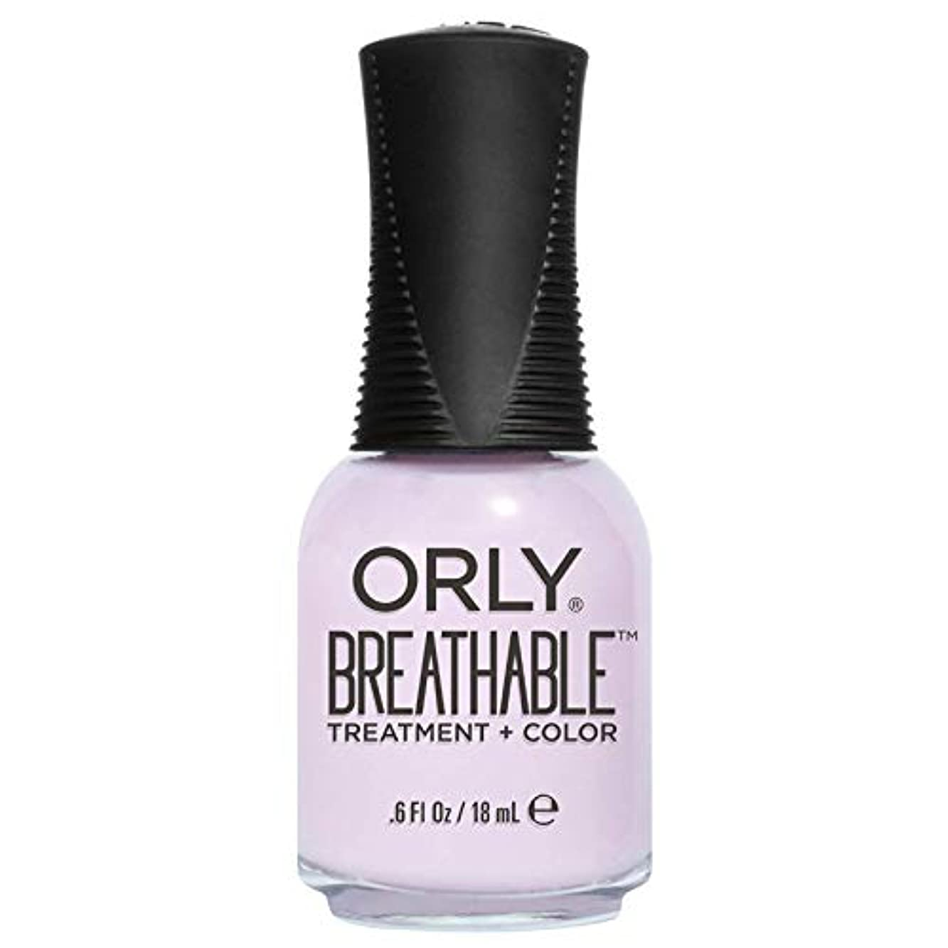 おびえたインフルエンザ遅れOrly Breathable Treatment + Color Nail Lacquer - Pamper Me - 0.6oz / 18ml