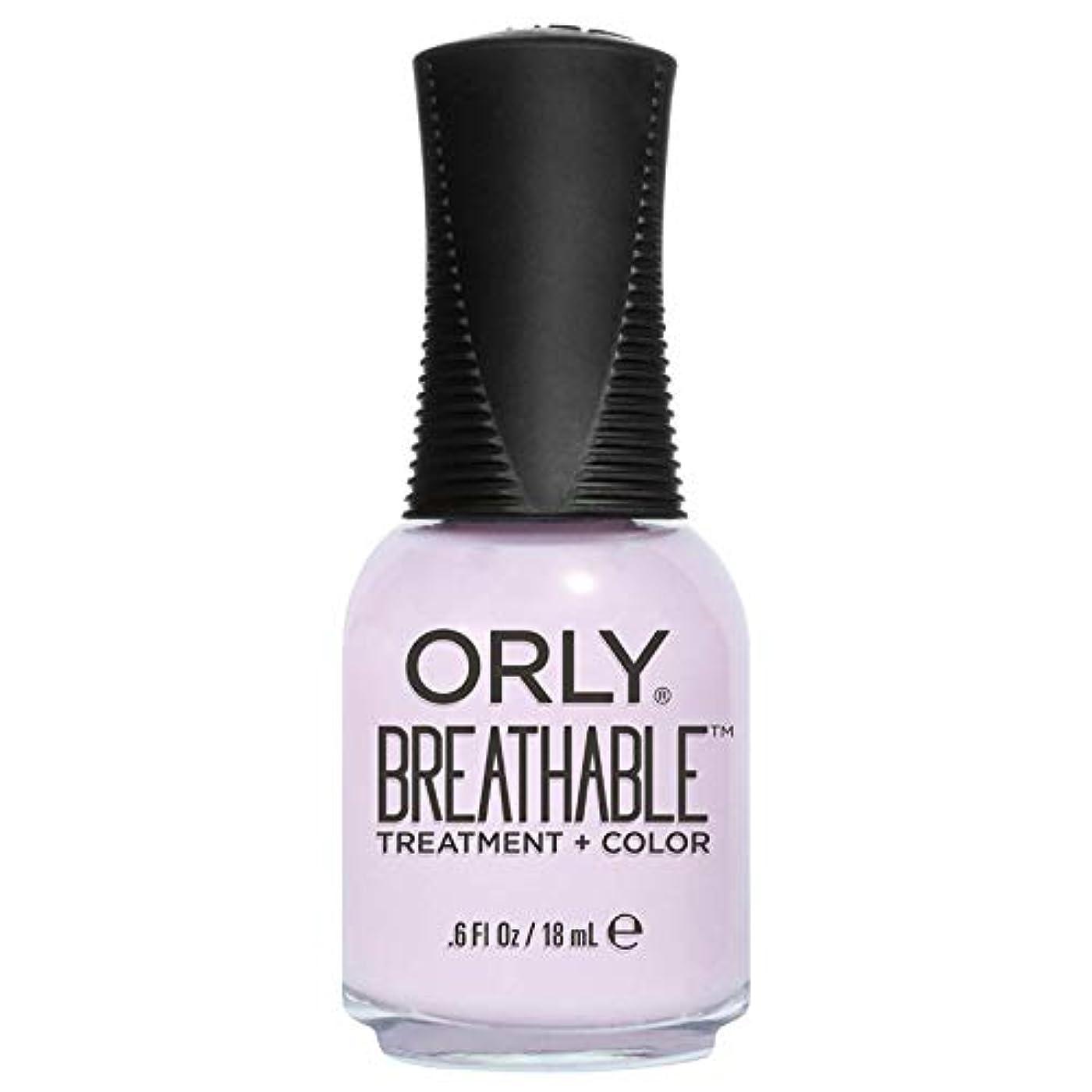 水族館理由考案するOrly Breathable Treatment + Color Nail Lacquer - Pamper Me - 0.6oz / 18ml