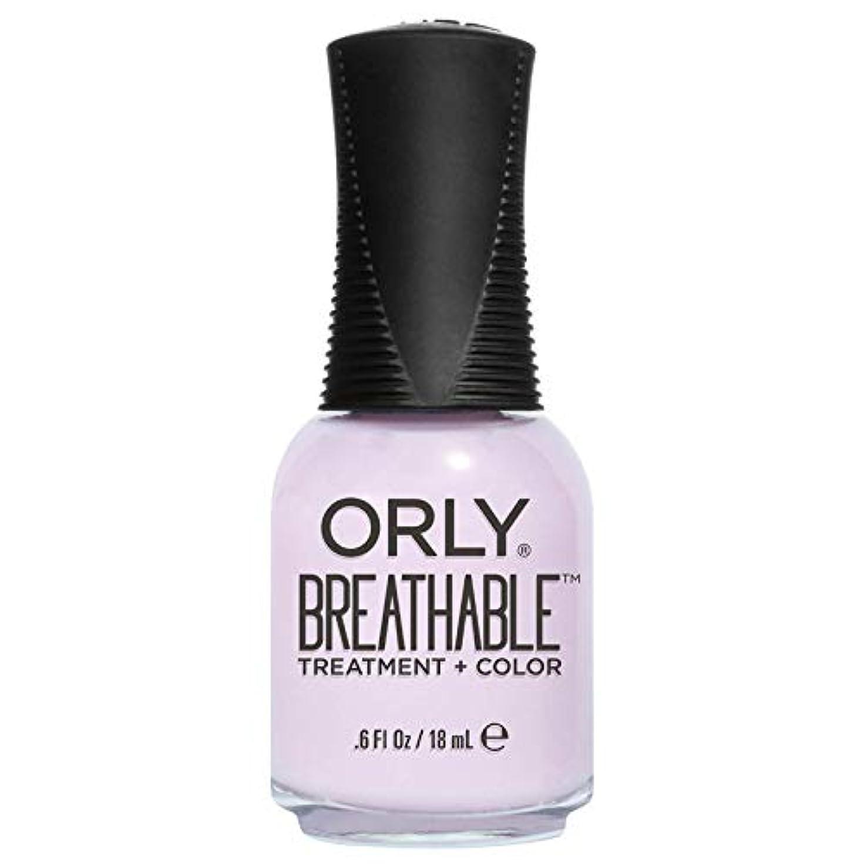 足音麺運営Orly Breathable Treatment + Color Nail Lacquer - Pamper Me - 0.6oz / 18ml