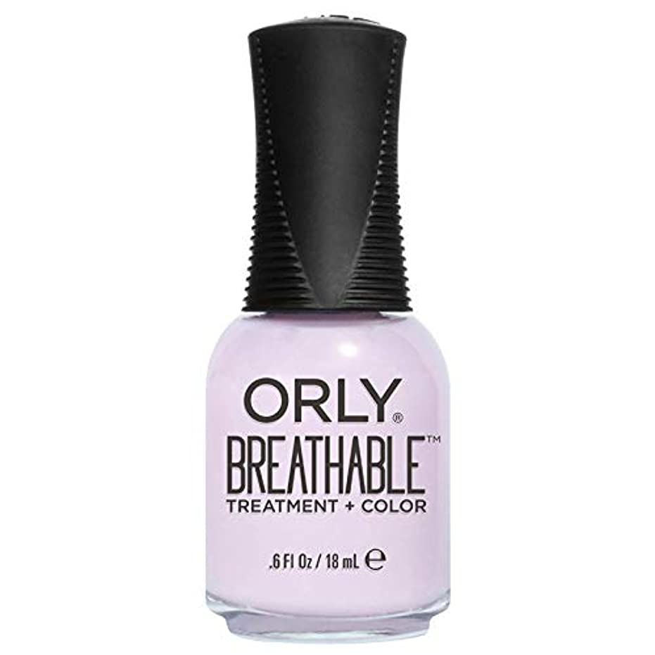 練習したリファインレルムOrly Breathable Treatment + Color Nail Lacquer - Pamper Me - 0.6oz / 18ml