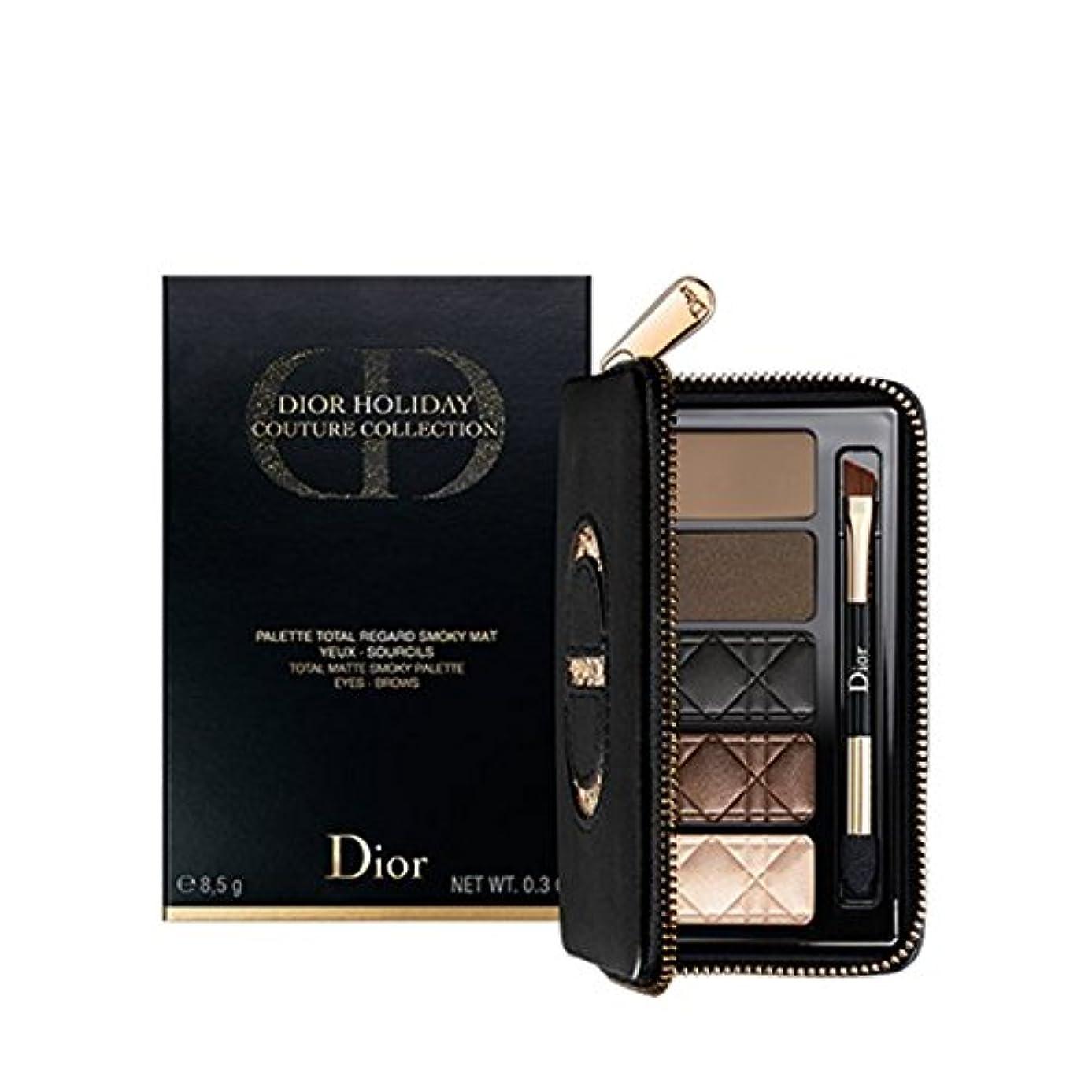 スツール稼ぐテンションDIORショッパー付き Dior(ディオール) マット スモーキー アイ パレット 限定品