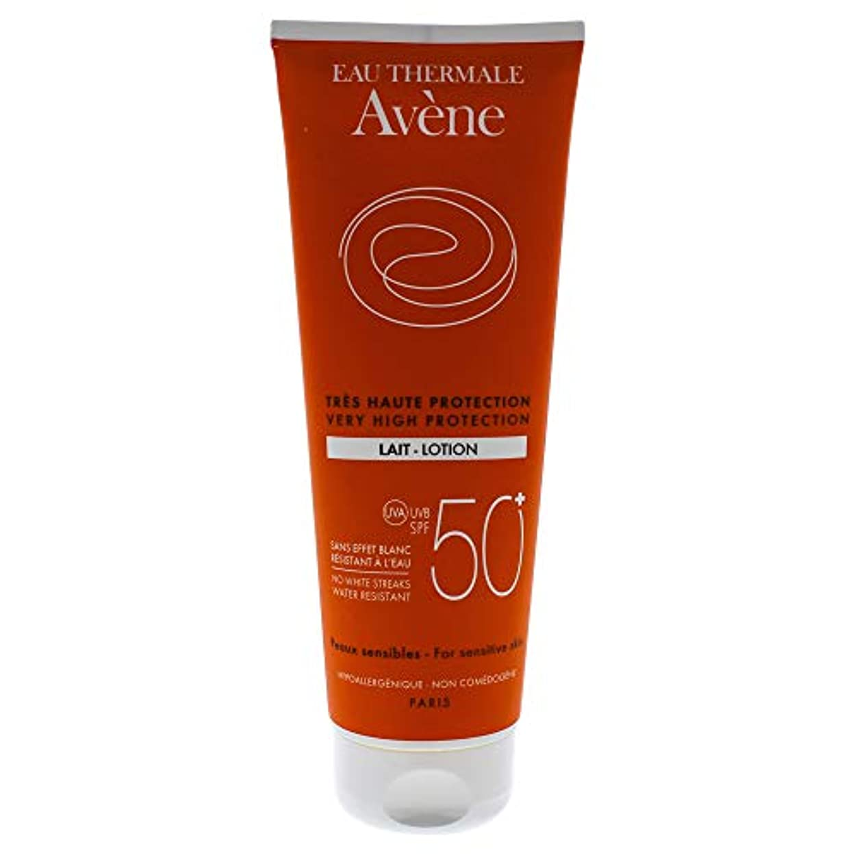 親指他の場所助手Avène Sun Body Lotion 50+ 250ml