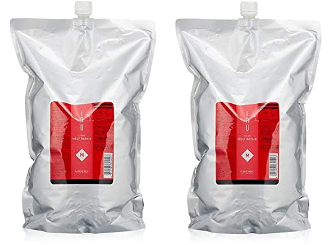 顔料フォーマット包帯【X2個セット】 ルベル イオ クリーム メルトリペア 2500g 詰替え用
