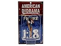 1/18 American Diorama Lady Mechanic - Jessie 女性 メカニック フィギュア 模型