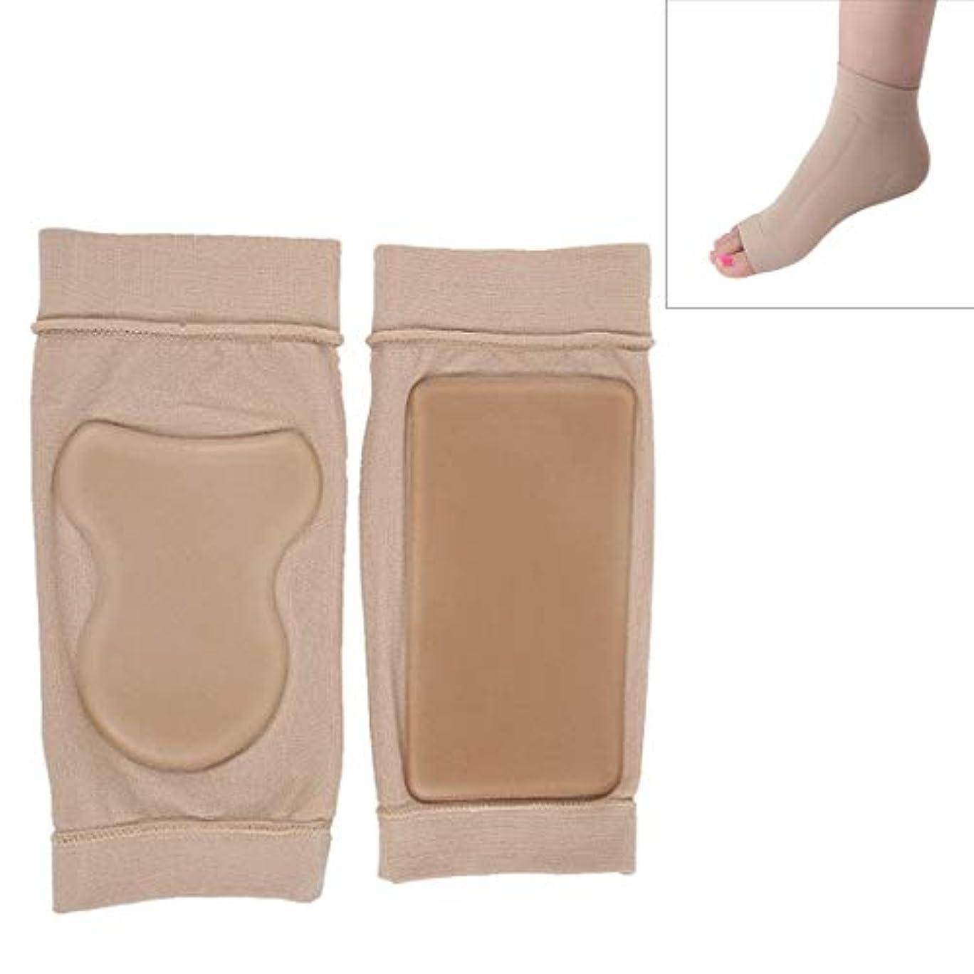 皮肉曲スラムLiziB ソルボ外反母趾サポーターSEBS耐クラック足首の保護ソックス包帯保護スリーブ