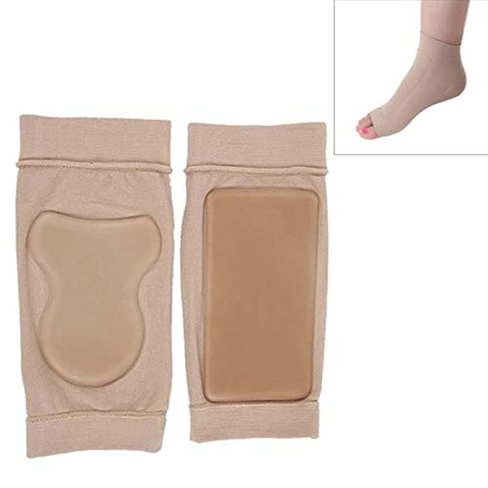 困惑疾患野心LiziB ソルボ外反母趾サポーターSEBS耐クラック足首の保護ソックス包帯保護スリーブ