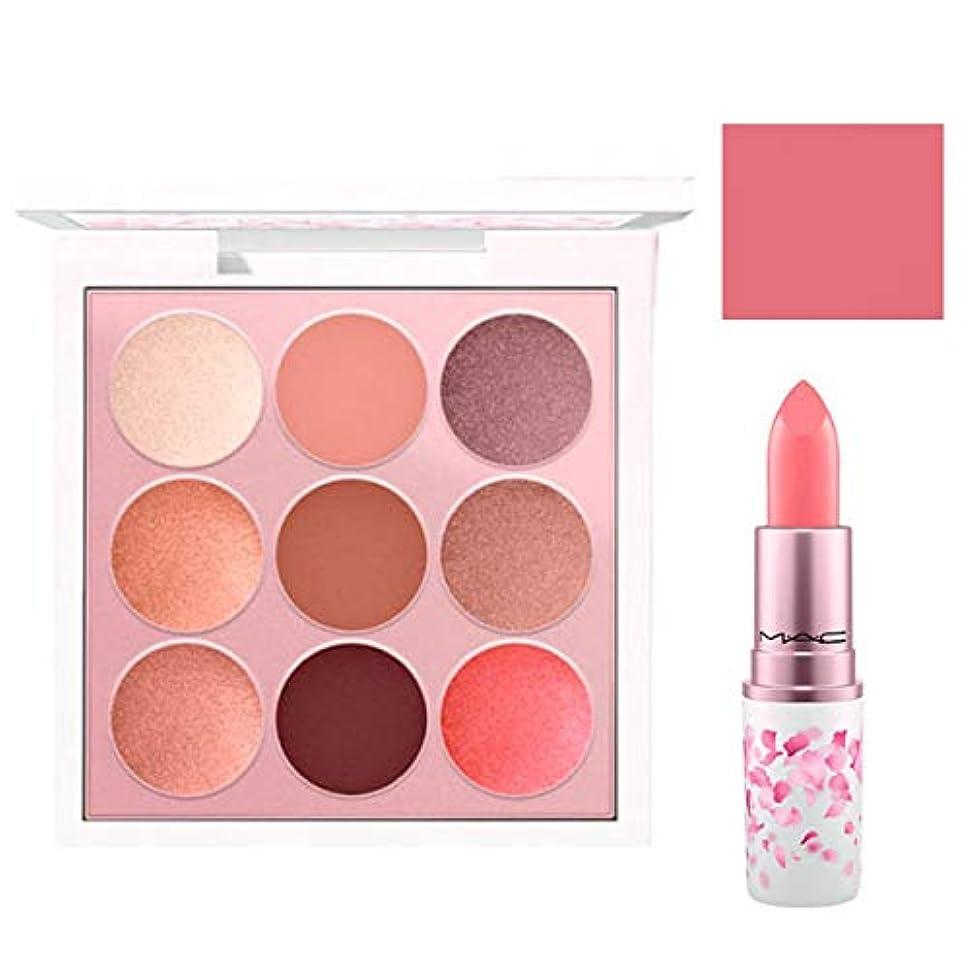 縁石寮防衛M.A.C 限定版, Boom, Boom, Bloom EyeShadow & Lipstick (Kabuki Doll Palette & Hi-Fructease) [海外直送品] [並行輸入品]